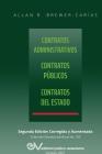 CONTRATOS ADMINISTRATIVOS. CONTRATOS PÚBLICOS, CONTRATOS DEL ESTADO. Segunda edición corregida y aumentada Cover Image