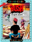 Crush & Color Rush Coloring Book Cover Image
