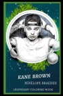 Kane Brown Legendary Coloring Book: Relax and Unwind Your Emotions with our Inspirational and Affirmative Designs Cover Image
