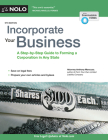 Incorporate Your Business: A Step-By-Step Guide to Forming a Corporation in Any State Cover Image