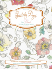 Painterly Days: The Flower Watercoloring Book for Adults Cover Image