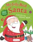 My Jolly Red Santa Activity and Sticker Book Cover Image