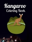 Kangaroo Coloring Book: An Adult Coloring Book of 40 Zentangle Kangaroo Coloing Pages with Intricate Patterns (Animal Coloring Books for Adult Cover Image
