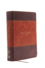 The King James Study Bible, Imitation Leather, Brown, Indexed, Full-Color Edition Cover Image