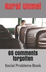 65 comments forgotten: Social Problems Book Cover Image