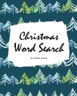 Christmas Word Search Puzzle Book - Easy Level (8x10 Puzzle Book / Activity Book) Cover Image
