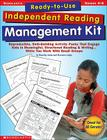 Ready-to-Use Independent Reading Management Kit: Grades 4–6: Reproducible, Skill-Building Activity Packs That Engage Kids in Meaningful, Structured Reading & Writing…While You Work With Small Groups Cover Image