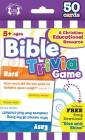 Bible Trivia Christian 50-Count Game Cards (I'm Learning the Bible Flash Cards) Cover Image