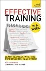 Effective Training in a Week: Teach Yourself Cover Image