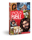 The Action Bible New Testament: God's Redemptive Story (Action Bible Series) Cover Image