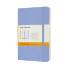 Moleskine Classic Notebook, Pocket, Ruled, Hydrangea Blue, Soft Cover (3.5 X 5.5) Cover Image