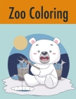 Zoo Coloring: coloring book for adults stress relieving designs Cover Image