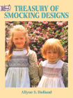 Treasury of Smocking Designs (Dover Embroidery) Cover Image