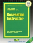 Recreation Instructor: Passbooks Study Guide (Career Examination Series) Cover Image