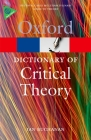 A Dictionary of Critical Theory (Oxford Paperback Reference) Cover Image