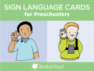 Sign Language Cards for Preschoolers Cover Image