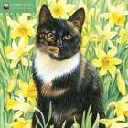 Ivory Cats Mini Wall calendar 2021 (Art Calendar) Cover Image