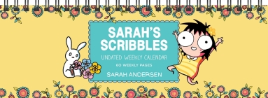 Sarah's Scribbles Undated Weekly Desk Pad Calendar Cover Image