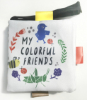 My Colourful Friends: A Wee World Full of Creatures (Wee Gallery Cloth Books) Cover Image