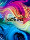 SKETCHBOOK-Drawing Notebook with 120 Blank Paper 8.5x11 Perfect for Sketching, Drawing, Writing or Doodling Cover Image