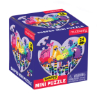 Love in the Wild 24 Piece Shaped Mini Puzzle Cover Image