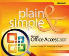 Microsoft Office Access 2007 Plain & Simple Cover Image