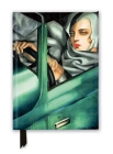 Tamara de Lempicka: Tamara in the Green Bugatti, 1929 (Foiled Journal) (Flame Tree Notebooks) Cover Image