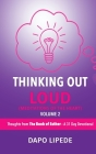 Thinking Out Loud: Thoughts from The Book of Esther - A 31 Day Devotional Cover Image