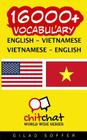 16000+ English - Vietnamese Vietnamese - English Vocabulary Cover Image