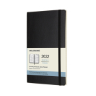 Moleskine 2022  Monthly Planner, 12M, Large, Black, Soft Cover (5 x 8.25) Cover Image