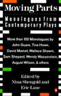 Moving Parts: Monologues from Contemporary Plays Cover Image