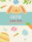 Easter Scissor Skills: 54 Pages Activity Book for Toddlers Cover Image