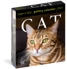 Cat Page-A-Day Gallery Calendar 2021 Cover Image