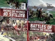 The Split History of the Battles of Lexington and Concord: A Perspectives Flip Book (Perspectives Flip Books: Famous Battles) Cover Image