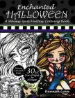Enchanted Halloween: A Whimsy Girls Fantasy Coloring Book Cover Image