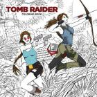 Tomb Raider Adult Coloring Book Cover Image