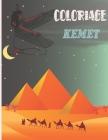Coloriages Kemet: Livre de coloriage égyptien/africain Egypte Maat Traditions et spiritualité africaine Cover Image