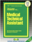 Medical Technical Assistant: Passbooks Study Guide (Career Examination Series) Cover Image