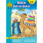 School Zone Bible Dot-To-Dots! 1-25 Workbook Cover Image