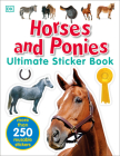 Ultimate Sticker Book: Horses and Ponies: More Than 250 Reusable Stickers Cover Image
