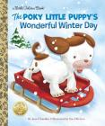 The Poky Little Puppy's Wonderful Winter Day (Little Golden Book) Cover Image