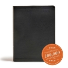CSB Tony Evans Study Bible, Black Genuine Leather, Indexed: Study Notes and Commentary, Articles, Videos, Easy-to-Read Font Cover Image