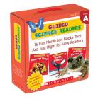 Guided Science Readers Parent Pack: Level A: 16 Fun Nonfiction Books That Are Just Right for New Readers Cover Image