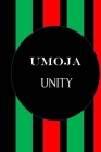 Umojo Unity: Color Pages Guided Prompt Lined Journal Affirmations Thoughts Gratitude New Year Visions 7-Days Celebration Cover Image