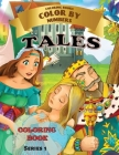 Tales - Color by Numbers: Coloring with numeric worksheets, color by numbers for adults and children with colored pencil.Flowers by number. Cover Image