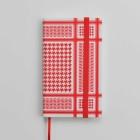 Red Kaffiyeh Pocket Journal Cover Image
