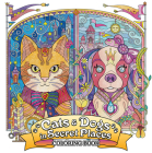 Cats and Dogs in Secret Places: Coloring Book Cover Image