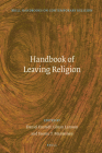 Handbook of Leaving Religion (Brill Handbooks on Contemporary Religion #18) Cover Image