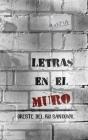 Letras En El Muro Cover Image