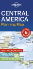 Lonely Planet Central America Planning Map (Planning Maps) Cover Image